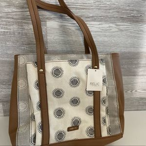 NWT Relic by Fossil Tote Bag